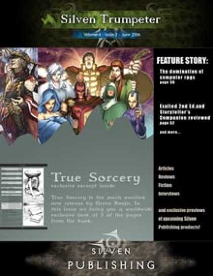 Role Playing Games - Silven Trumpeter June 2006 - The True Sorcery issue