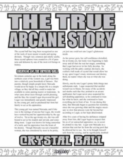 Role Playing Games - The True Arcane Story: Crystal Ball
