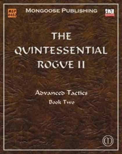 Role Playing Games - The Quintessential Rogue II