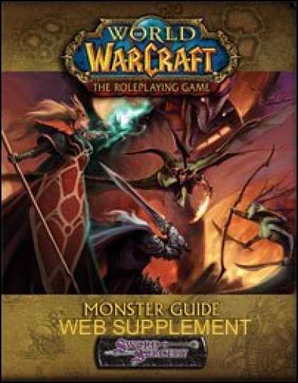 Role Playing Games - World of Warcraft Monsters Guide Web Supplement