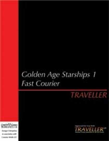 Role Playing Games - Traveller - Golden Age Starships 1: Fast Courier