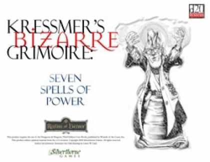 Role Playing Games - Kressmer's Bizarre Grimoire: Seven Spells of Power