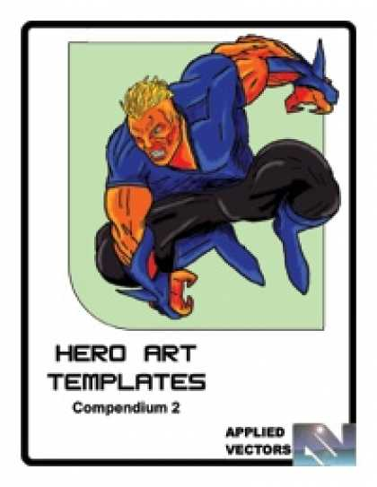 Role Playing Games - Hero Art Templates Compendium 2