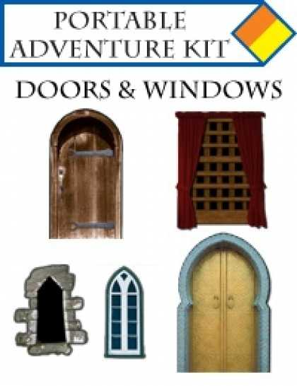 Role Playing Games - Portable Adventure Kit - Doors and Windows