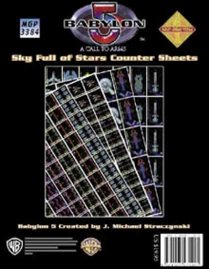 Role Playing Games - Babylon 5: Sky Full of Stars Counter Sheets