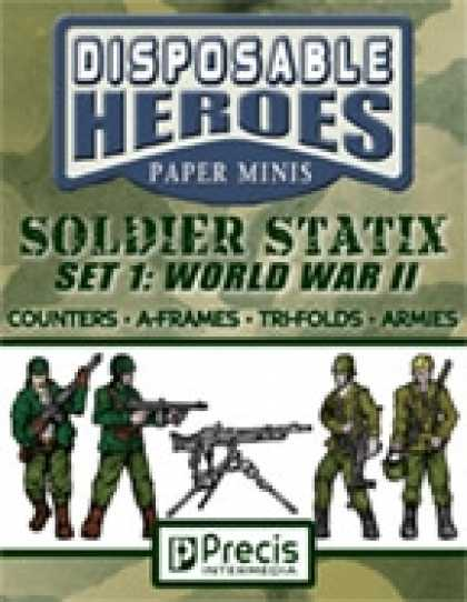 Role Playing Games - Disposable Heroes Soldier Statix 1: WWII