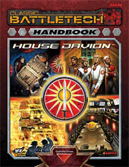Role Playing Games - Handbook: House Davion