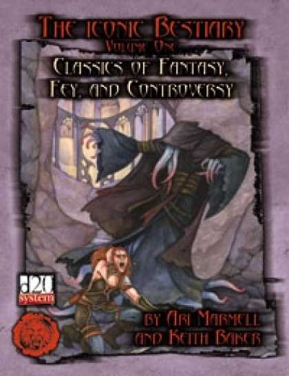 Role Playing Games - Lion's Den Press: The Iconic Bestiary -- Volume One