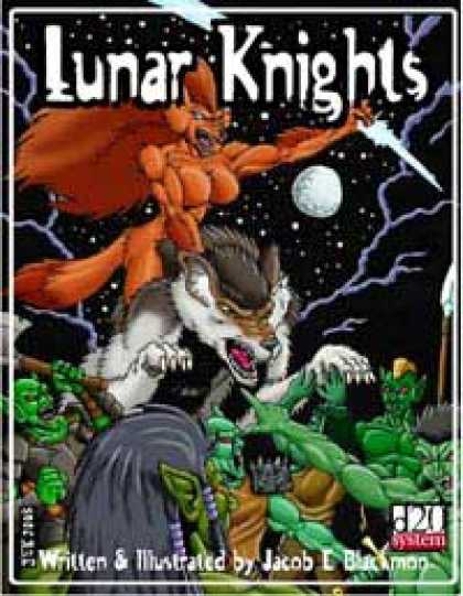 Role Playing Games - Lunar Knights
