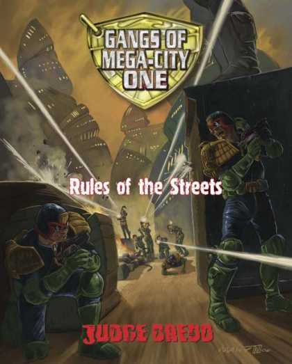 Role Playing Games - Gangs of Mega-City One