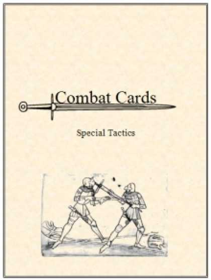 Role Playing Games - Combat Cards: Special Tactics