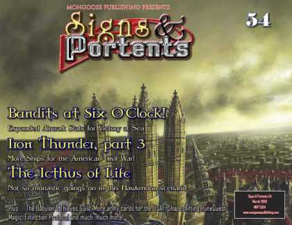 Role Playing Games - Signs & Portents 54