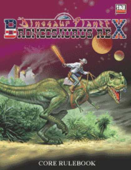 Role Playing Games - Dinosaur Planet: Broncosaurus Rex