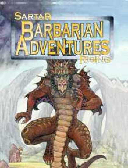 Role Playing Games - HeroQuest: Sartar Rising - Barbarian Adventures