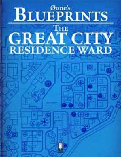 Role Playing Games - 0one's Blueprints: The Great City, Residence Ward