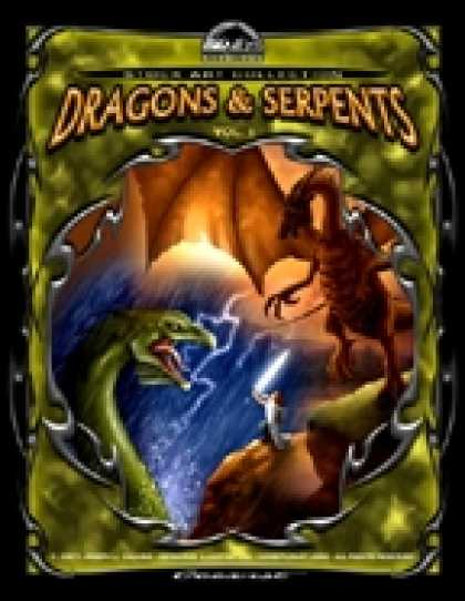 Role Playing Games - Cerberus Stock Art Collection: Dragons & Serpents Vol. 1