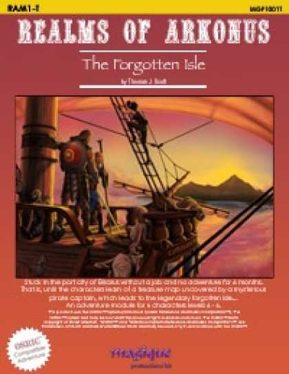 Role Playing Games - The Forgotten Isle