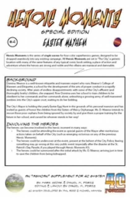 Role Playing Games - Heroic Moments #4: Easter Mayhem