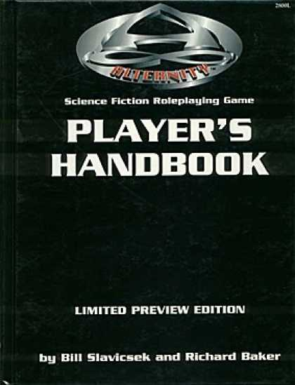 Role Playing Games - Alternity Player's Handbook (Limited Preview Edition)