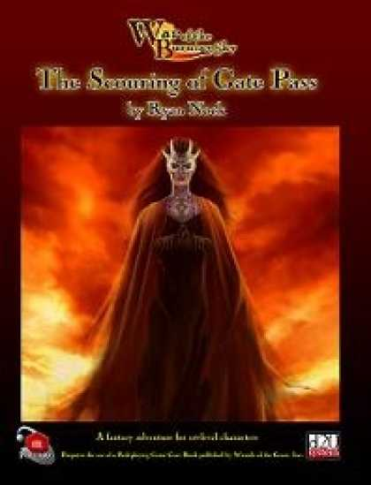Role Playing Games - War of the Burning Sky #1: The Scouring of Gate Pass