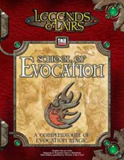 Role Playing Games - School of Evocation