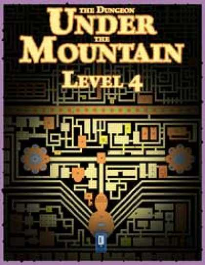 Role Playing Games - The Dungeon Under the Mountain: Level 4