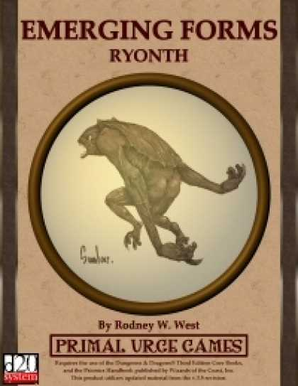 Role Playing Games - Emerging Forms - Ryonth