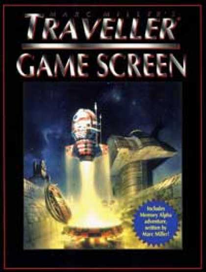 Role Playing Games - Marc Miller's Traveller Game Screen