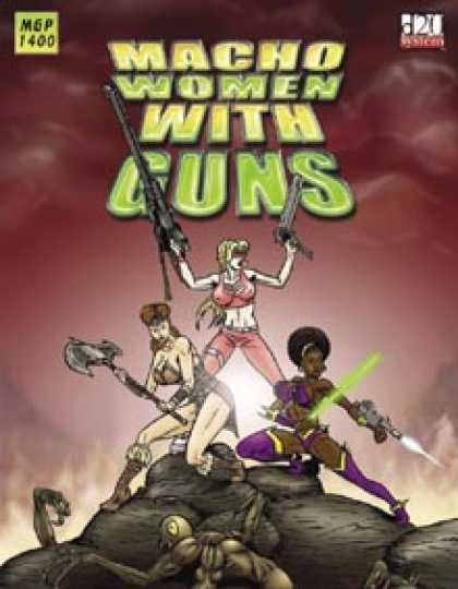 Role Playing Games - Macho Women With Guns