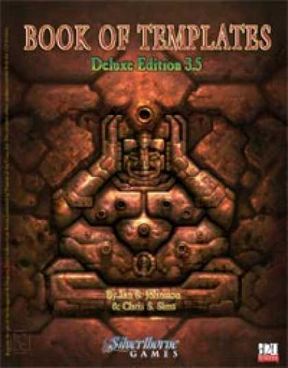 Role Playing Games - Book of Templates - Deluxe Edition 3.5