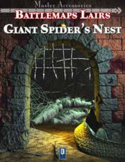 Role Playing Games - Battlemaps Lairs: Giant Spider's Nest