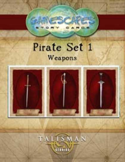 Role Playing Games - Gamescapes: Story Cards, Pirates Set 1
