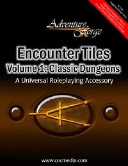 Role Playing Games - Encounter Tiles Volume 1: Classic Dungeons