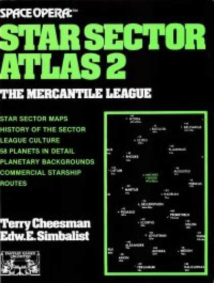 Role Playing Games - Space Opera: Star Sector Atlas 2: Mercantile League