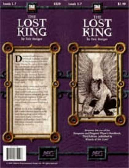 Role Playing Games - The Lost King