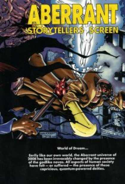 Role Playing Games - Aberrant Storytellers Screen