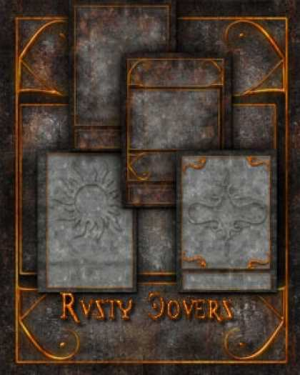 Role Playing Games - Rusty Covers Templates