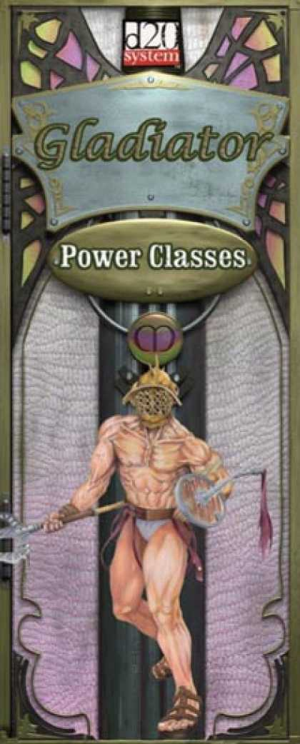 Role Playing Games - Power Class Gladiator