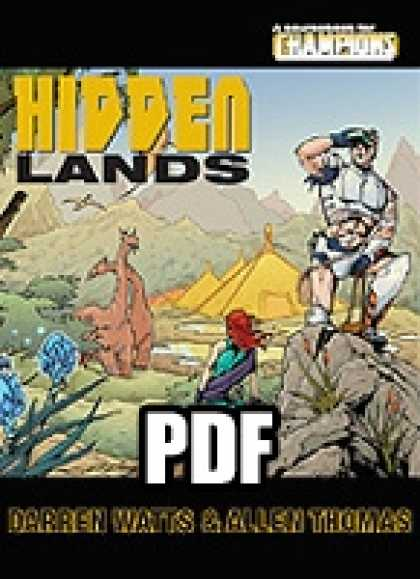Role Playing Games - Hidden Lands - PDF