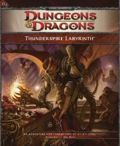 Role Playing Games - H2 Thunderspire Labyrinth