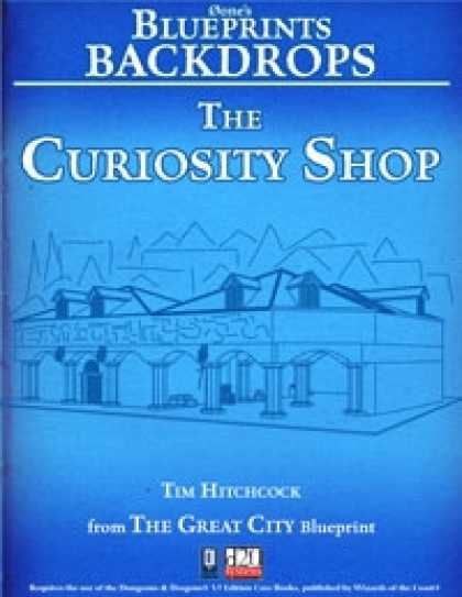 Role Playing Games - 0one's Blueprints Backdrops: The Curiosity Shop