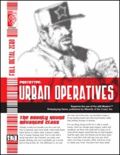 Role Playing Games - Urban Operatives