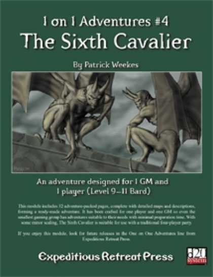 Role Playing Games - 1 on 1 Adventures #4: The Sixth Cavalier
