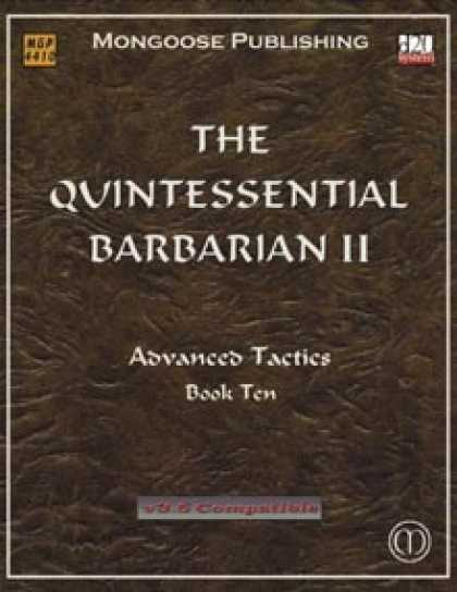 Role Playing Games - The Quintessential Barbarian II