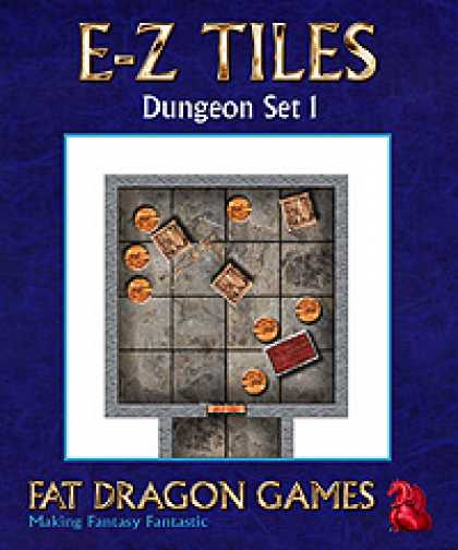 Role Playing Games - E-Z TILES: Dungeon Set 1