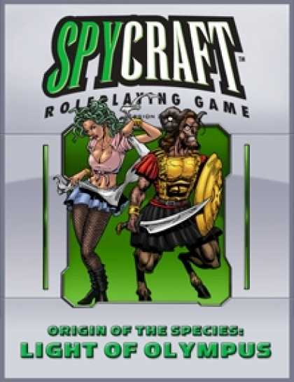 Role Playing Games - Origin of the Species: Light of Olympus