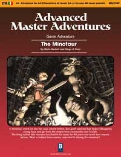 Role Playing Games - The Minotaur (OSRIC)
