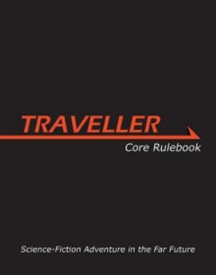Role Playing Games - Traveller Main Rulebook