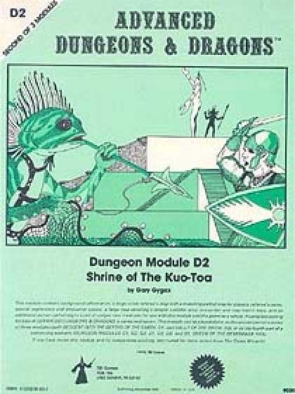 Role Playing Games - D2 - Shrine of the Kuo-Toa