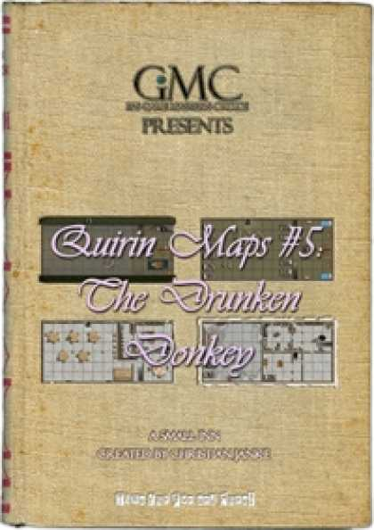 Role Playing Games - Quirin Maps #5: The Drunken Donkey